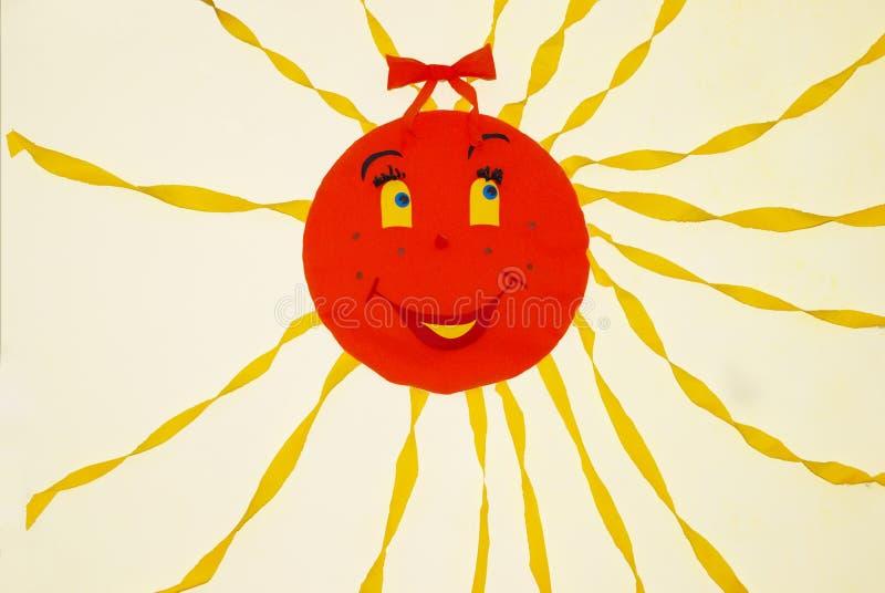 Download Smiling sun stock illustration. Illustration of sunny - 7793558