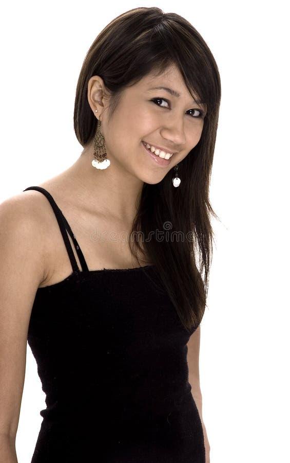 Smiling Teen stock image