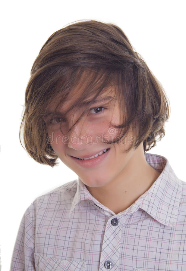 Download Smiling teenager stock image. Image of 14, background - 27369219