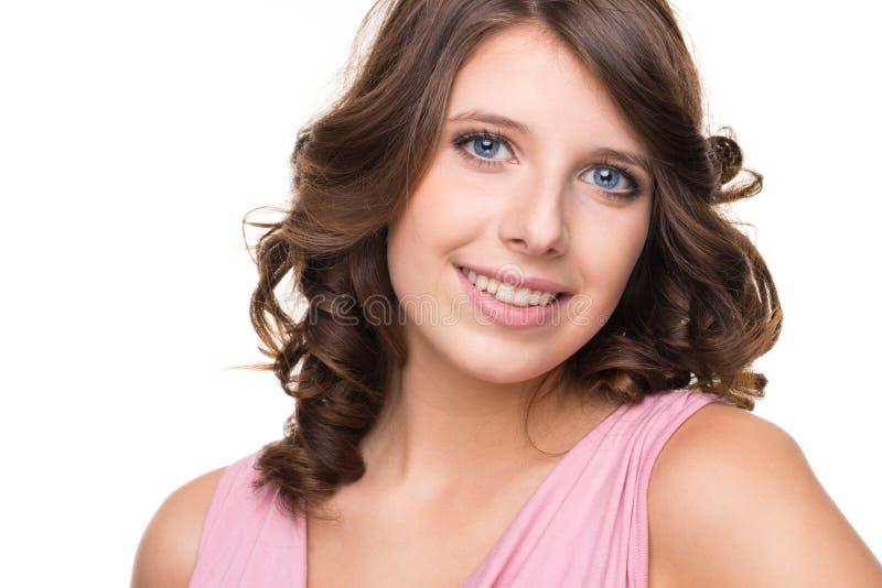 Download Smiling teenager stock image. Image of fashion, lady - 27704109
