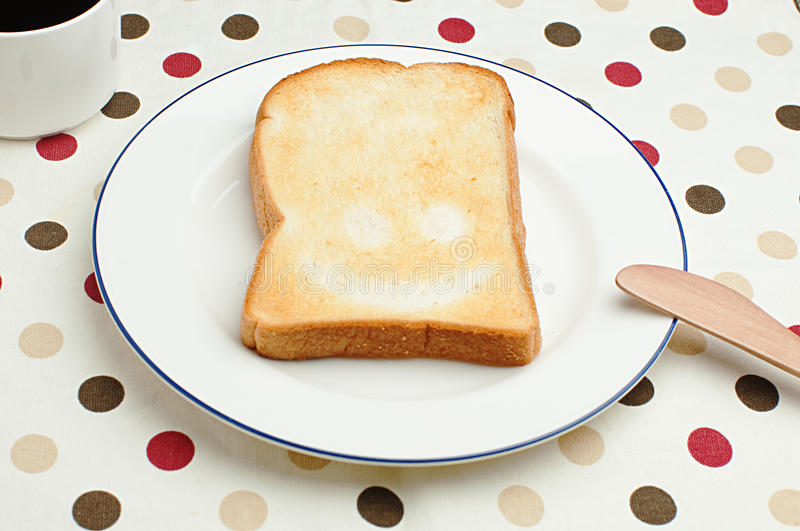 Smiling Toast Royalty Free Stock Images