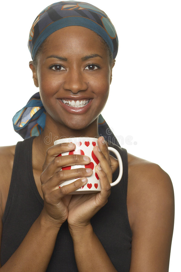 Free Smiling With Heart Cup Stock Image - 3681051