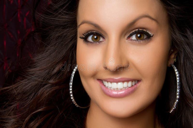 Smiling Woman royalty free stock photos