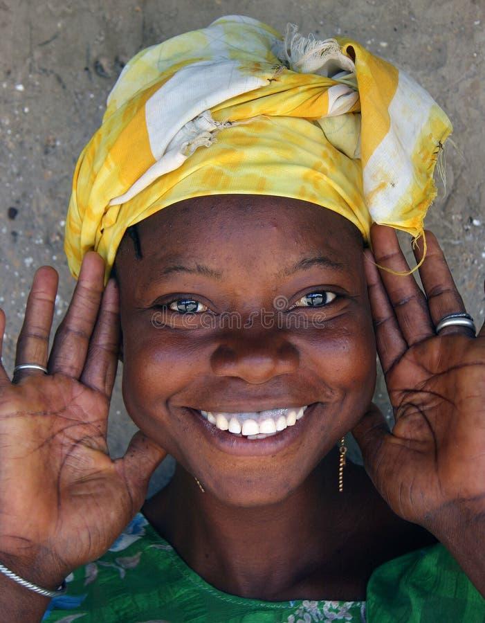 Smiling woman royalty free stock photo