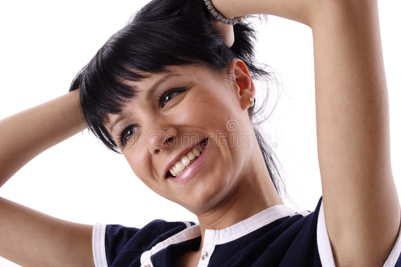 Download Smiling Woman stock photo. Image of cheerful, smile, smiling - 828290