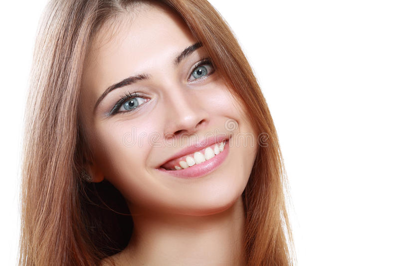 Download Smiling woman stock image. Image of care, hair, health - 33410917