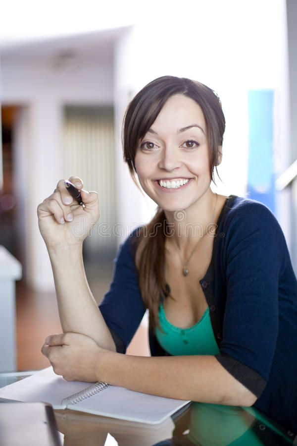 Smiling At You Royalty Free Stock Photos