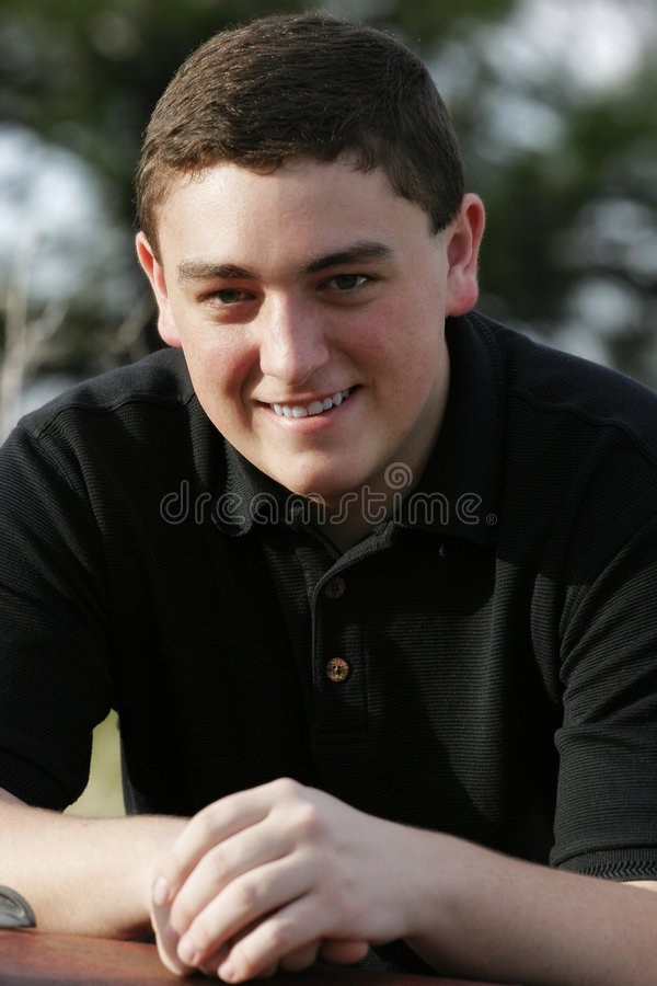 Smiling Young Man #2 royalty free stock image