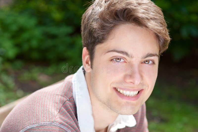 Smiling young man royalty free stock photos