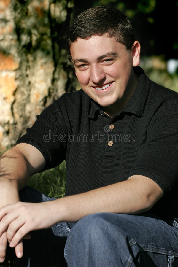 Smiling Young Man #3 royalty free stock photo