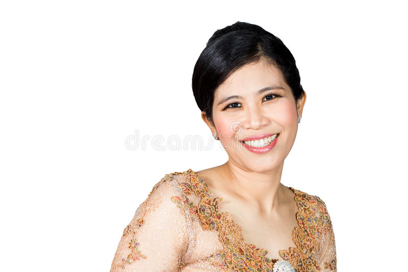 Smiling young woman. royalty free stock photography