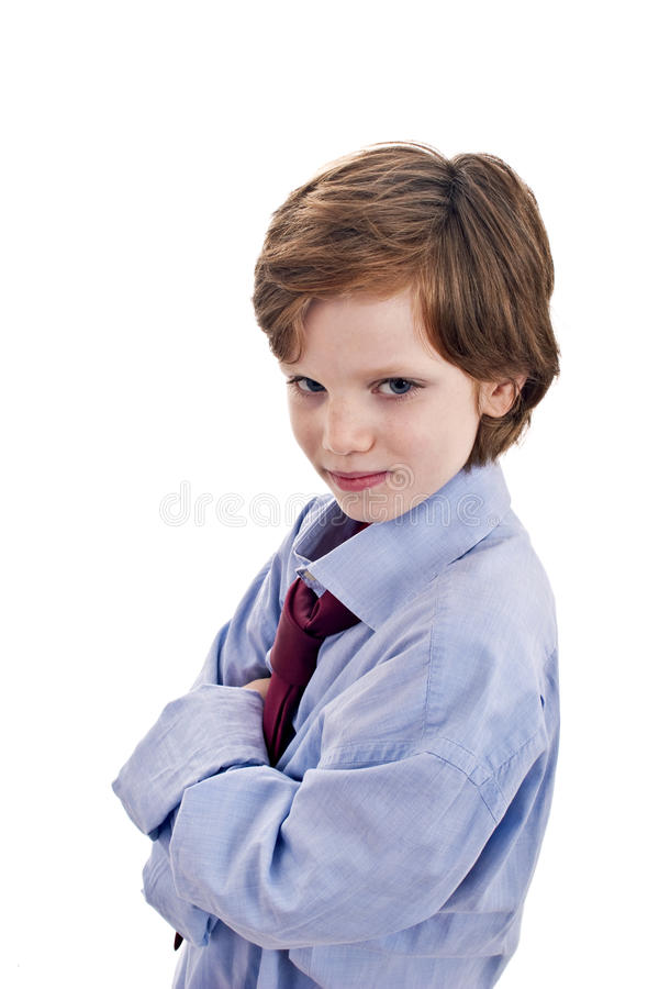 smilling мальчика милый стоковое изображение