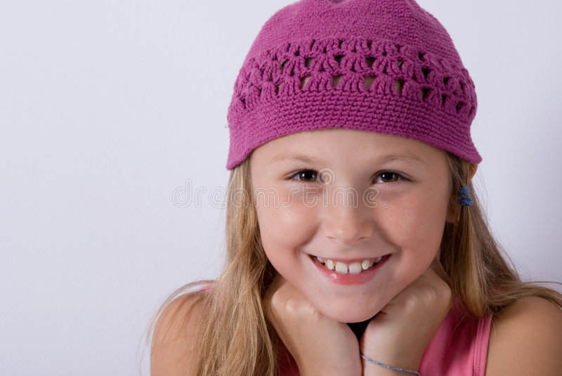Smily litle girl royalty free stock images