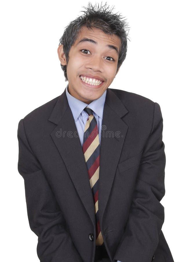 Free Smirking Funny Businessman Stock Photo - 14194540