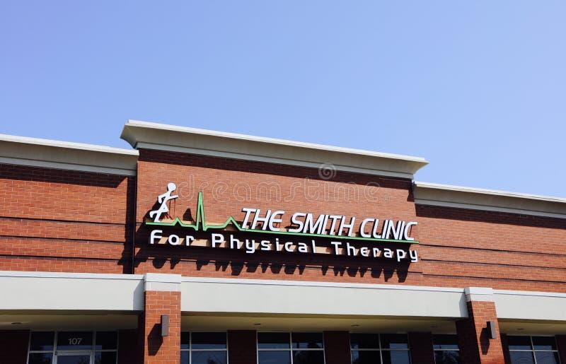 Smith Clinic för sjukgymnastik arkivfoton