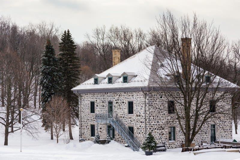 Smith House du 19ème siècle sur le bâti royal, Montréal photos libres de droits