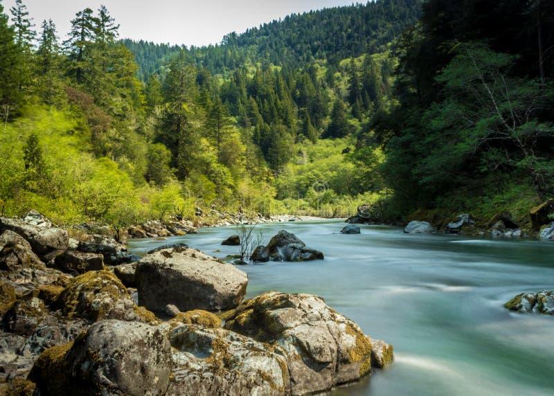 Smith River. The beautiful Smith River in Del Norte County, California, USA stock photos
