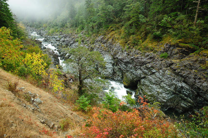Smith river valley stock photography