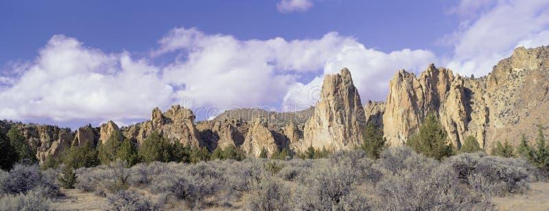 Download Smith Rock stock image. Image of ponderosa, purple, deschutes - 18968483