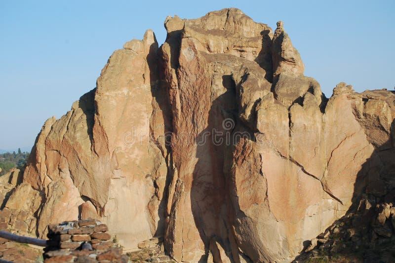 Smith Rock en Oregon fotografía de archivo libre de regalías