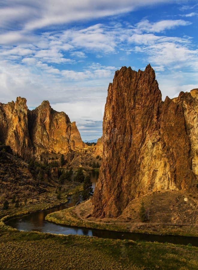 Smith Rock (Oregon) royaltyfri fotografi