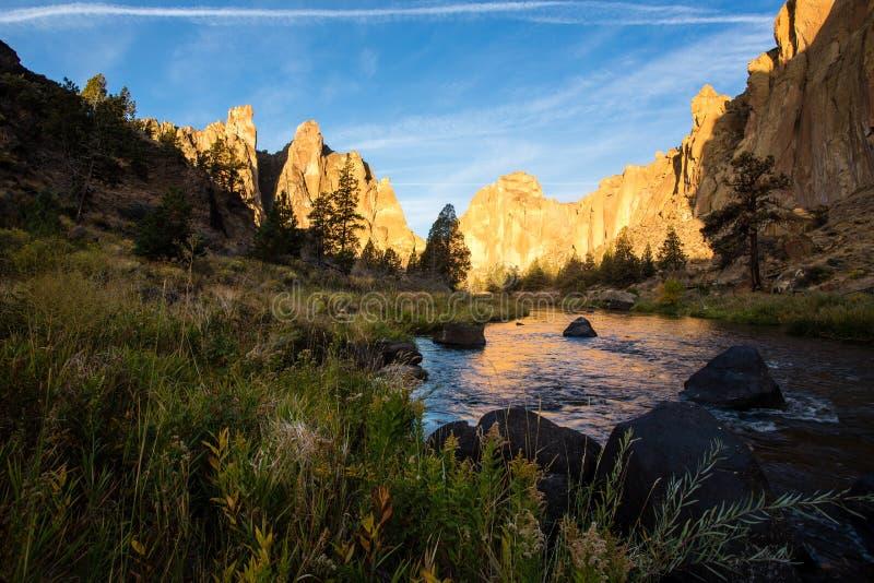 Smith Rock, Oregon fotos de stock