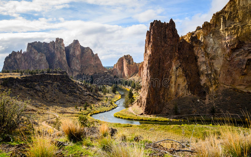 Smith Rock State Park arkivfoton