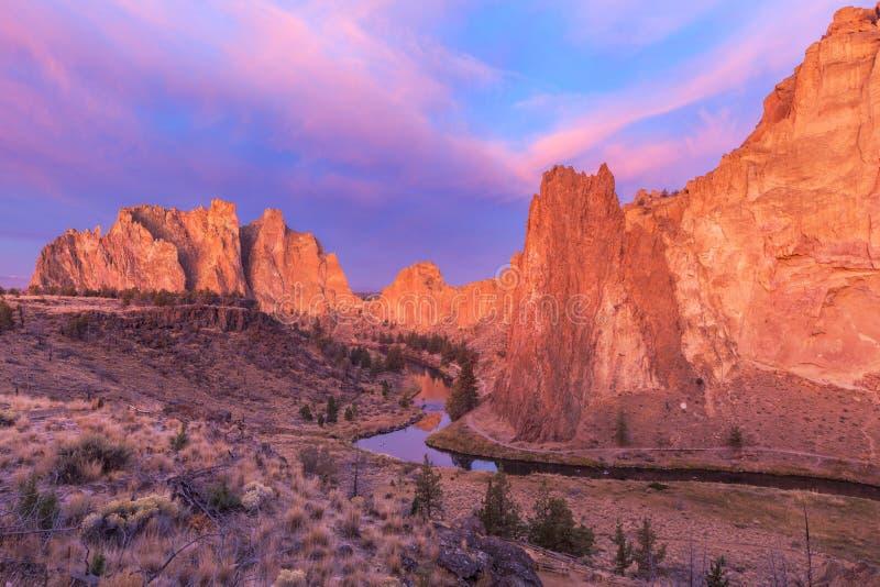 Smith Rock State Park photo libre de droits
