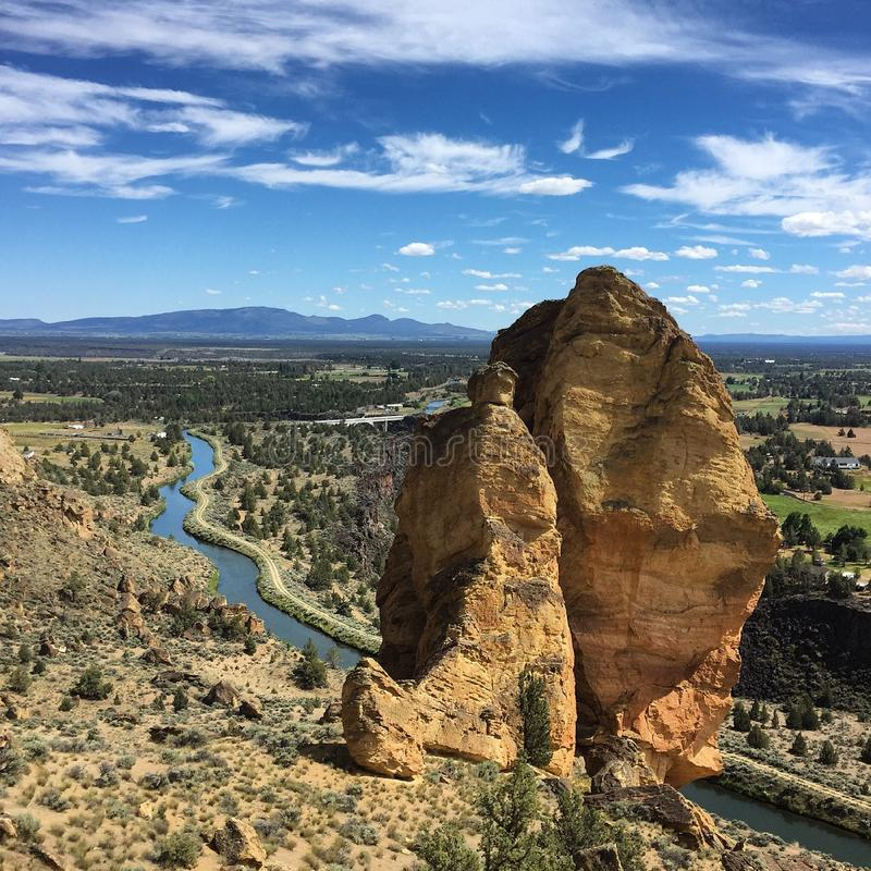 Smith Rock State Park royalty free stock photography