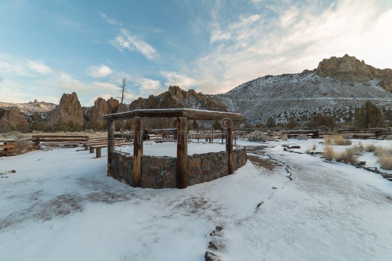 Smith Rock State Park royalty-vrije stock foto