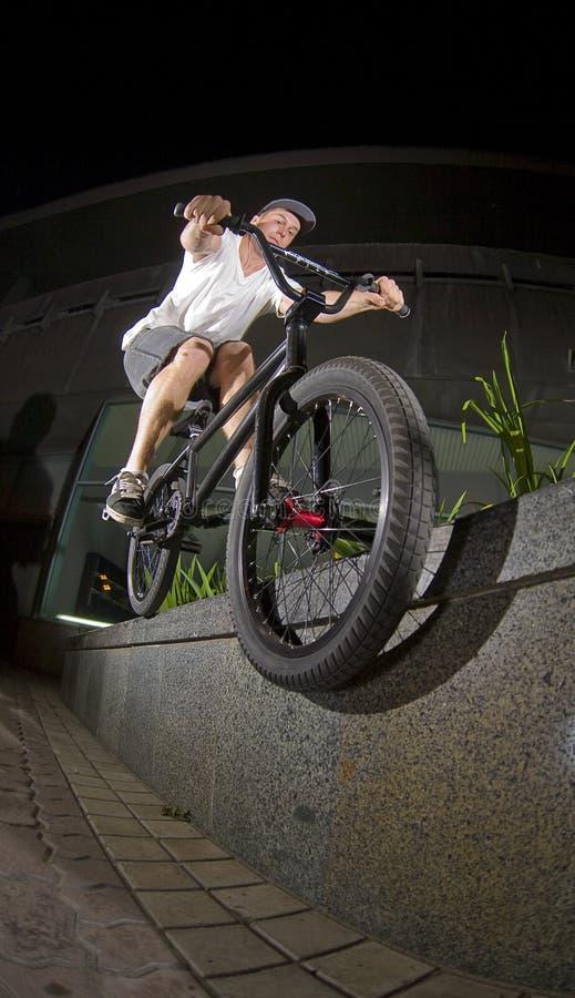 Smith-Schleifen BMX lizenzfreie stockbilder