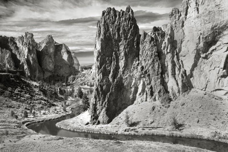 Smith skały stanu park, Cental Oregon zdjęcie stock