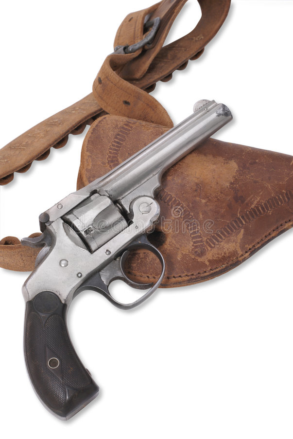 Smith-u. Wesson-Revolver stockfotos