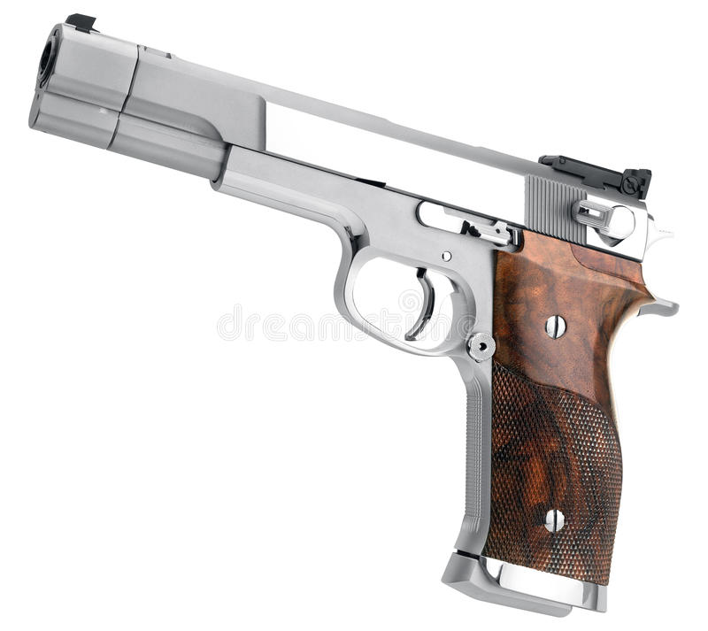 Smith Wesson .45 royalty free stock images