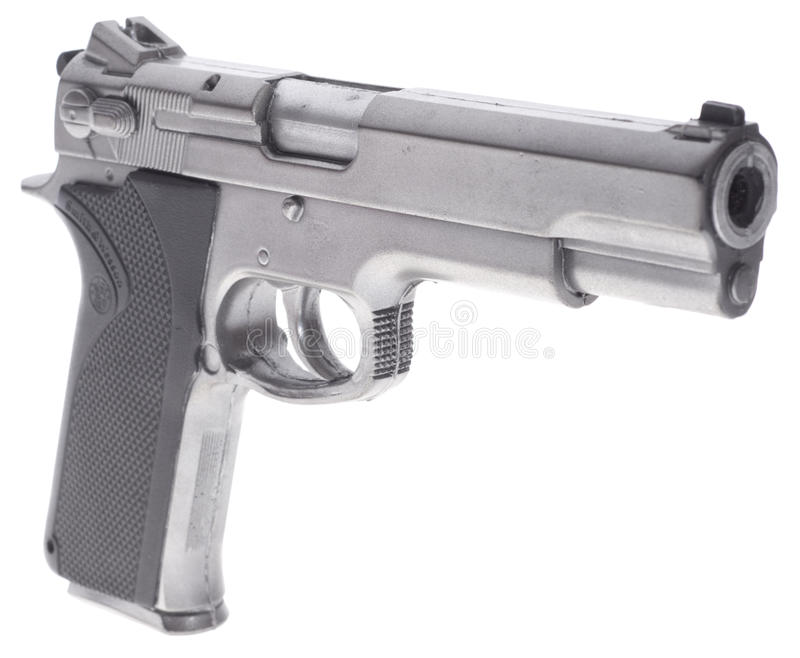 Smith And Wesson-pistool royalty-vrije stock afbeelding