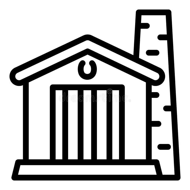 Smithery ikona, konturu styl ilustracja wektor