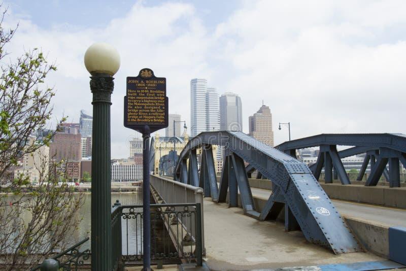 Smithfield街道桥梁 图库摄影