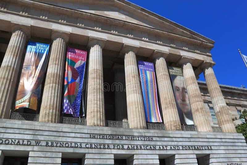 Smithsonian Amerikaanse Museum Van De Kunst Redactionele Fotografie