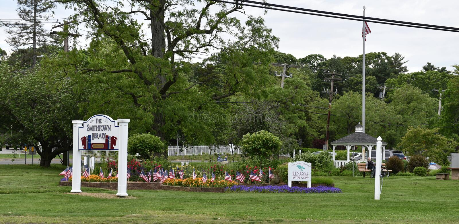 Smithtown new york state usa historical monuments. There are historical monuments in the Smithtown , NewYork state of USA , which connected with establishing of royalty free stock photography