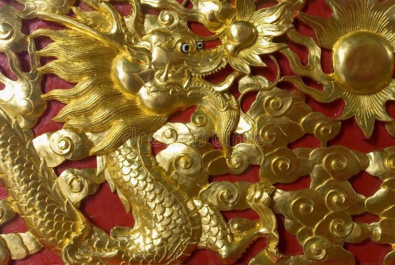 smocze złoto zdjęcie stock