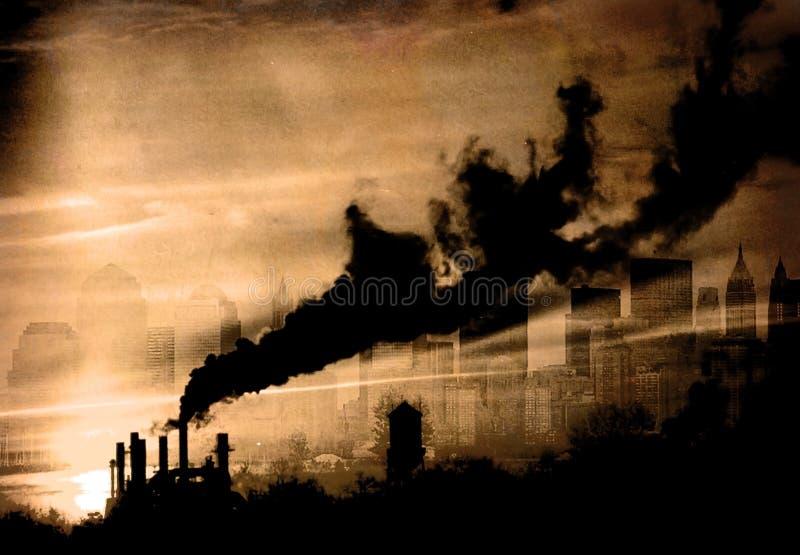 smog lizenzfreies stockfoto