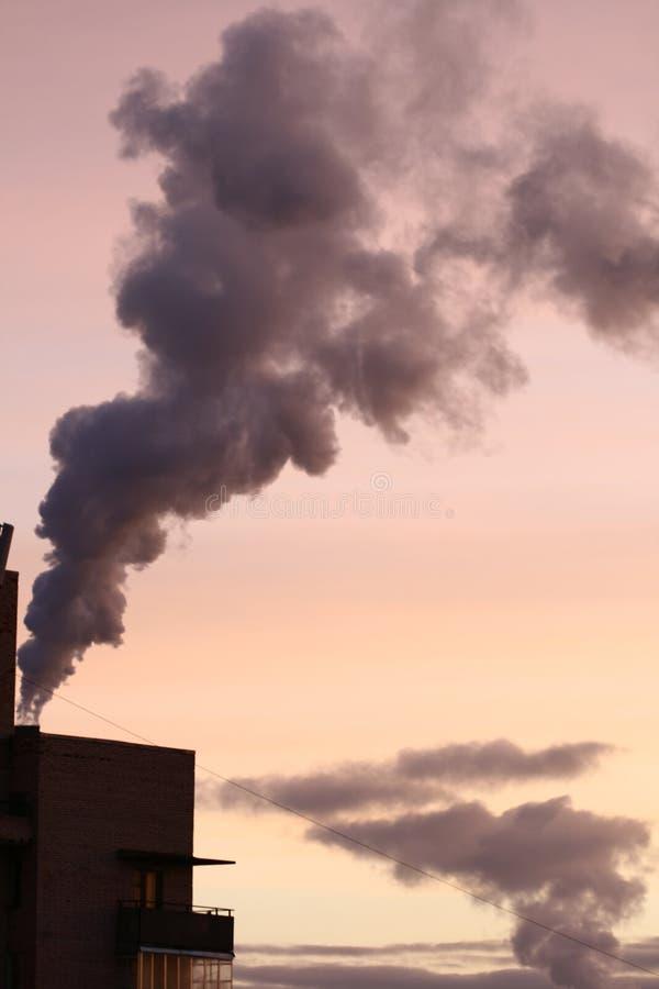 Smog lizenzfreie stockfotografie