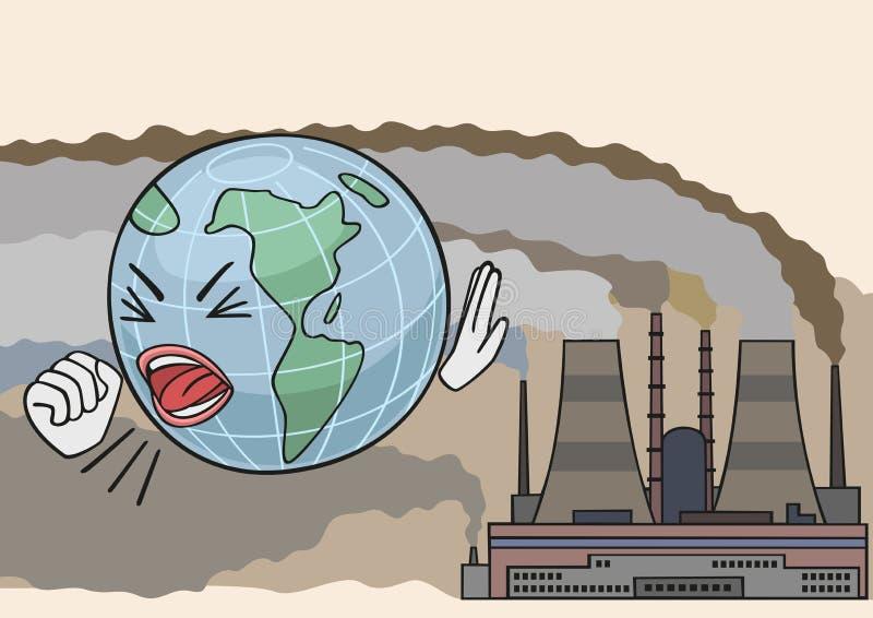 smog ilustração royalty free