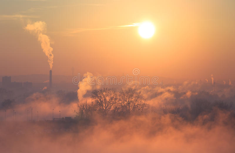 smog foto de stock royalty free