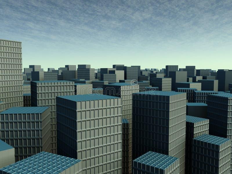 smog miasta royalty ilustracja