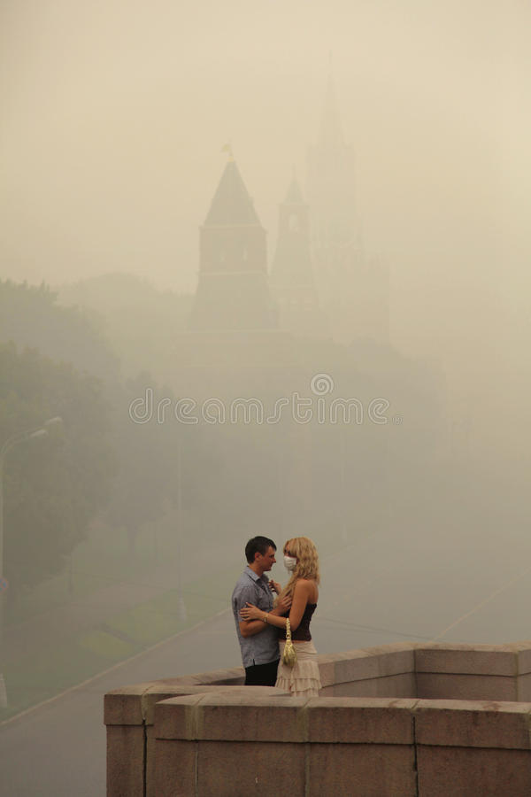 Download Smog In Moscow, Russia. Kremlin. Editorial Stock Image - Image: 15933724