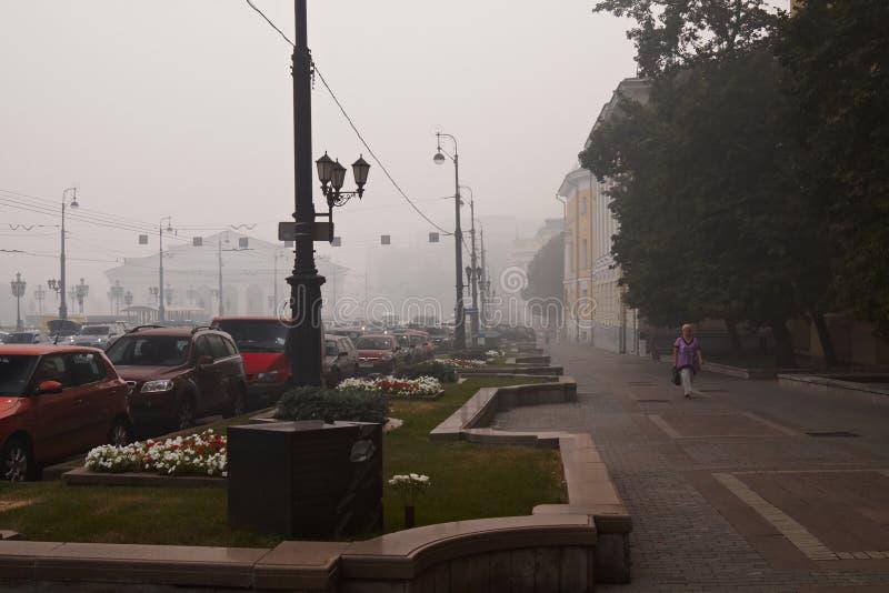 Smog in Moskou