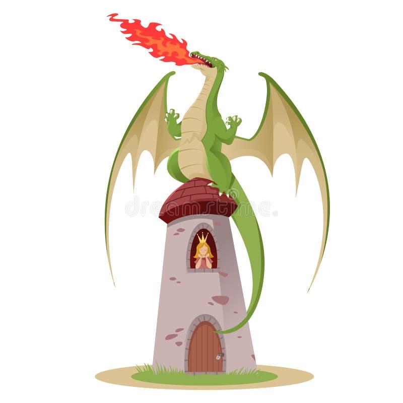 Smok royalty ilustracja