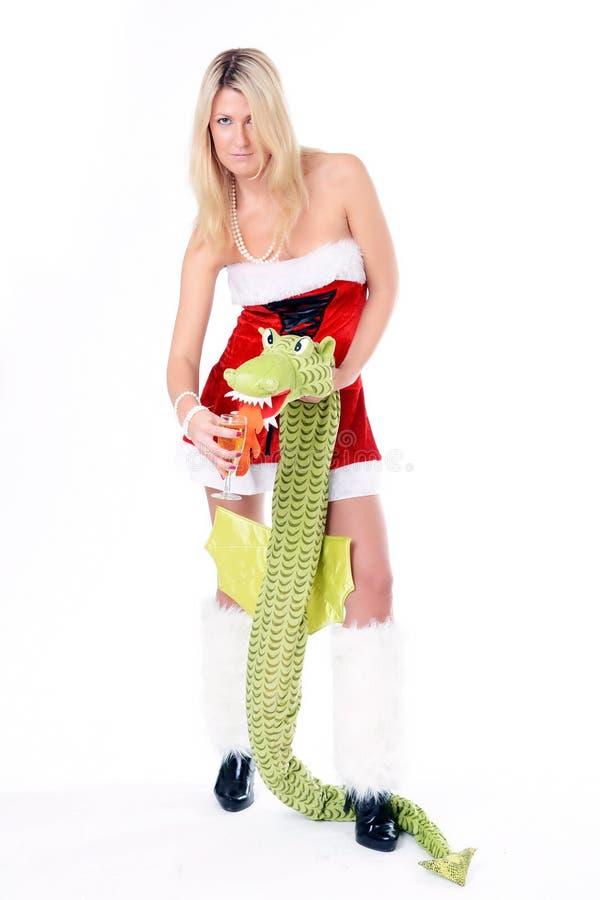 smok kobieta zdjęcie royalty free