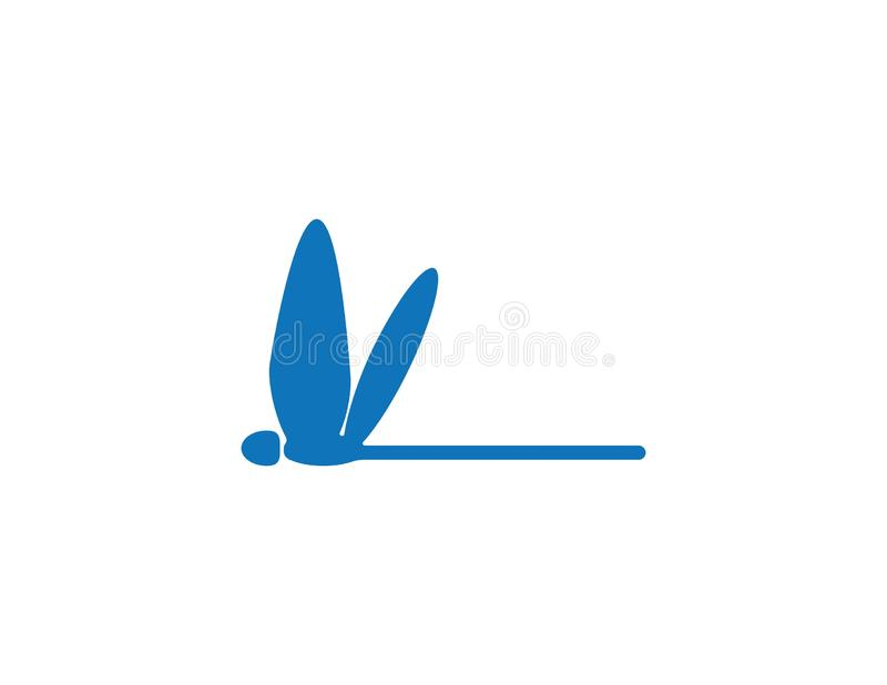 Smok komarnicy logo royalty ilustracja